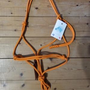 Licol éthologique orange taille poney