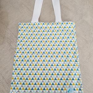 Tote Bag triangle