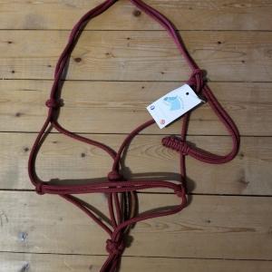 Licol éthologique en corde taille poney